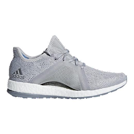 750411b149f adidas Women s Pure Boost X Element Running Shoes - Grey Blue - GREY GREY