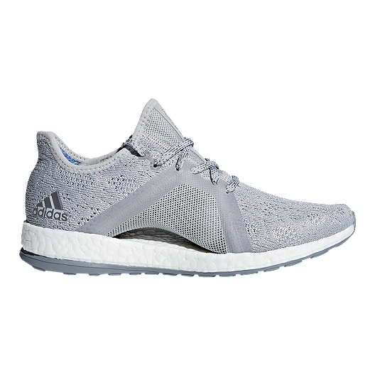 e7e11ed4e33da adidas Women s Pure Boost X Element Running Shoes - Grey Blue ...