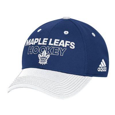 Toronto Maple Leafs Locker Room Structured Flex Hat