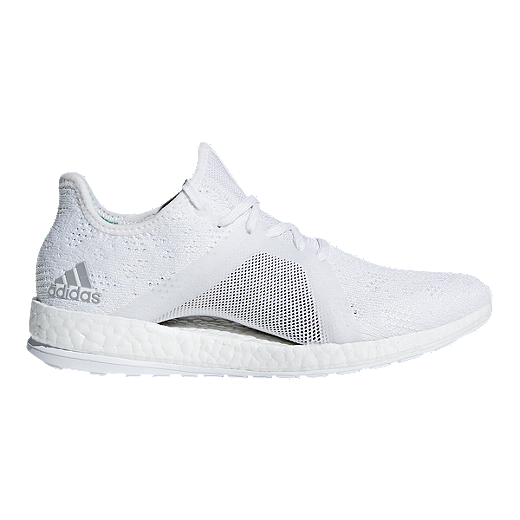 384f6e2a5 ... france adidas womens pure boost x element running shoes white grey  green white 7a61f d5e1d