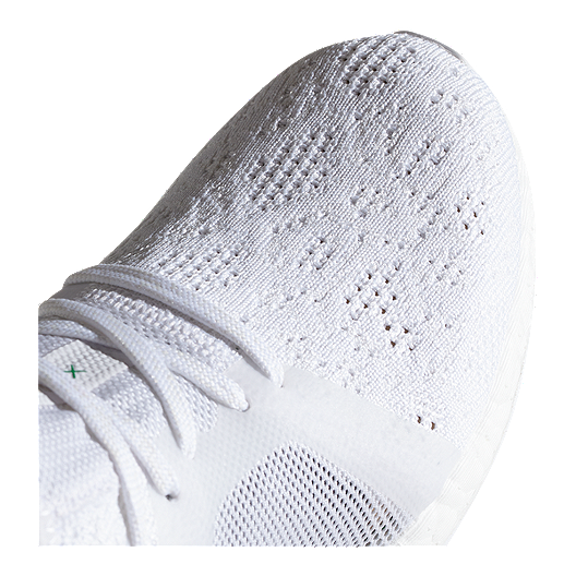 aaac79f0b adidas Women s Pure Boost X Element Running Shoes - White Grey Green. (4).  View Description
