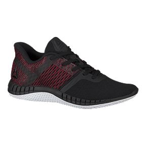 Reebok Kids  Print Run Next Grade School Running Shoes - Black Red White 6b24be0ea
