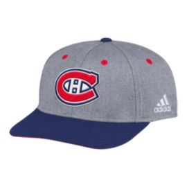 Montreal Canadiens 2 Tone Structured Adjustable Hat