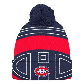 Montreal Canadiens Cuffed Pom Knit