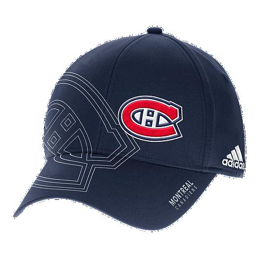 size 40 6d6a3 b5a89 Montreal Canadiens Second Season Structured Flex Hat   Sport Chek