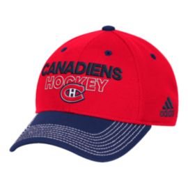 Montreal Canadiens Locker Room Structured Flex Hat
