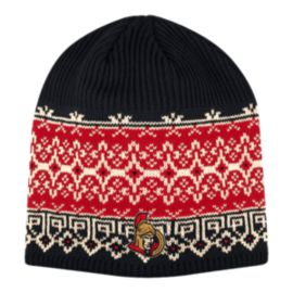 Ottawa Senators Women's Fair Isle Beanie Knit