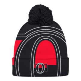 Ottawa Senators Cuffed Pom Knit