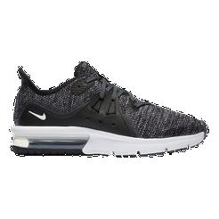 Nike Kids  Air Max Sequent 3 Grade School Shoes - Black White ... c3ec6878dd