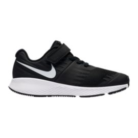 Nike Kids' Star Runner Preschool Shoes - Black/White