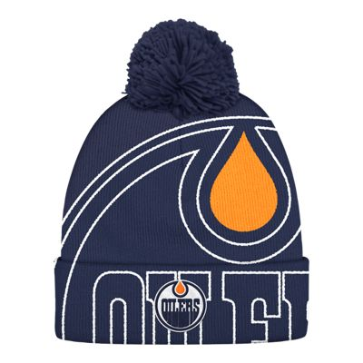 Edmonton Oilers Cuffed Pom Knit
