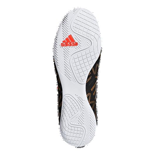 tiendas populares nuevas imágenes de mejor mayorista adidas Men's Nemeziz Messi Tango 17.4 Indoor Soccer Shoes - Black/Red/Gold