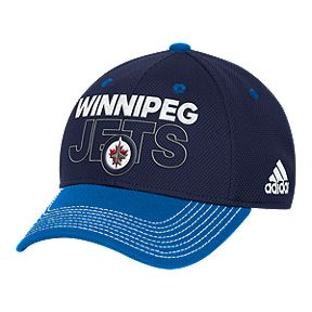 00f419da46b Winnipeg Jets Dassler Flat Brim Snap Hat · Winnipeg Jets Locker Room  Structured Flex Hat