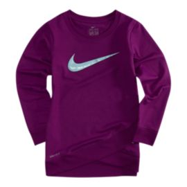 Nike Girls' 4-6X Therma Full Zip Hoodie