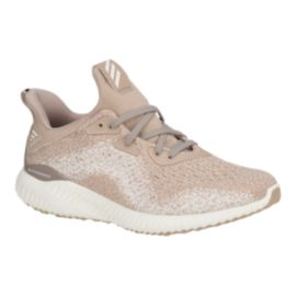 adidas Women's AlphaBounce EM Running Shoes - Pearl/White