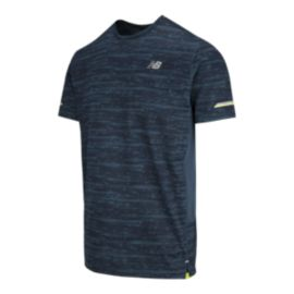 New Balance Men's Ice 2E Printed Short Sleeve Shirt
