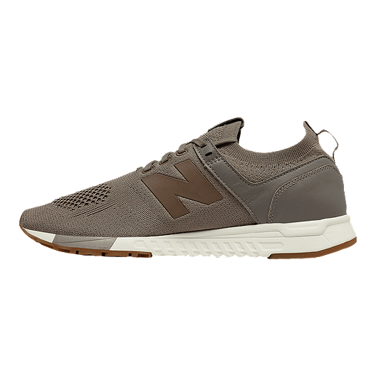 New Balance Men's 247 Suede Shoes MushroomWhite | Sport Chek