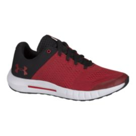 Under Armour Kids' Pursuit Grade School Shoes - Black/Red