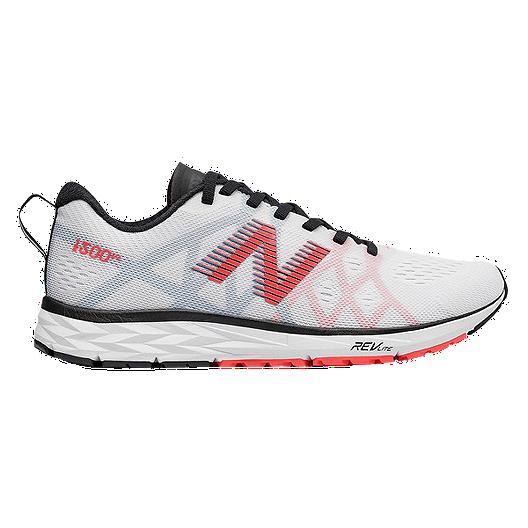 38f0623daebd2 New Balance Women's 1500v4 Running Shoes - White/Black/Orange | Sport Chek