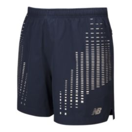 "New Balance Men's Reflective Impact 5"" Shorts"