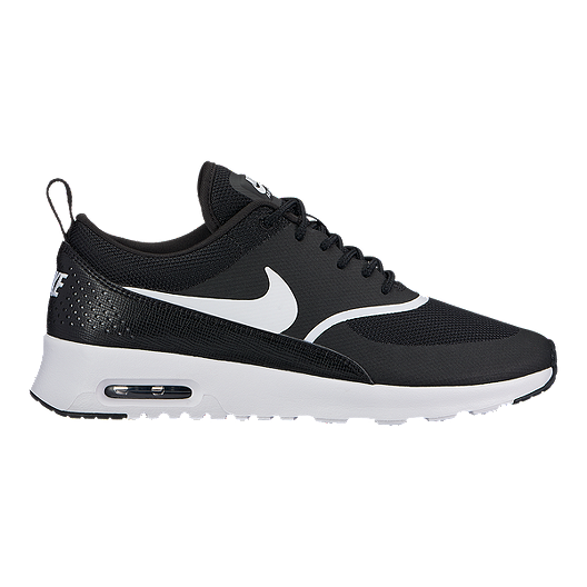 on sale 1ec48 4a3c4 Nike Women s Air Max Thea Shoes - Black White   Sport Chek