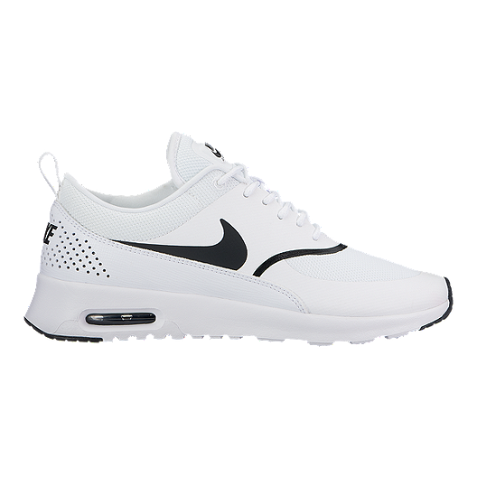 2956971a67bb Nike Women s Air Max Thea Shoes - White Black