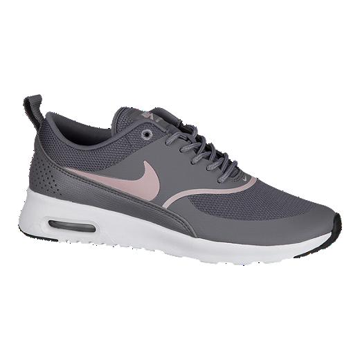 Nike Women's Air Max Thea Shoes GunsmokeRoseBlack
