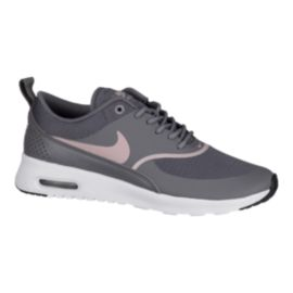 Nike Women's Air Max Thea Shoes - Gunsmoke/Rose/Black