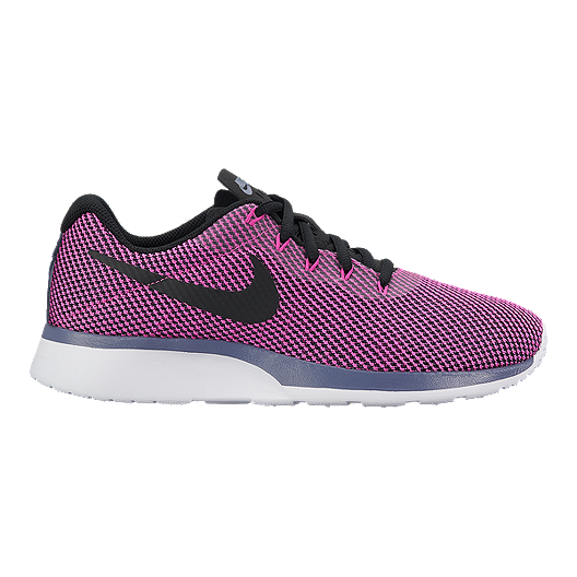 373ad138364e Nike Women s Tanjun Racer Shoes - Carbon Black Magenta