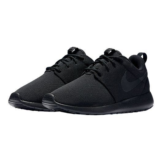huge discount 21879 094b4 Nike Women's Roshe One Shoes - Black/Dark Grey | Sport Chek