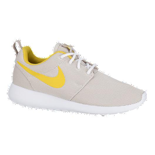 7cbedfffcdc55 Nike Women s Roshe One Shoes - Desert Sand Sulfur White