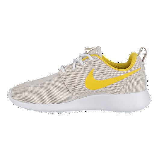online retailer e3e8e 4a47e Nike Women's Roshe One Shoes - Desert Sand/Sulfur/White ...