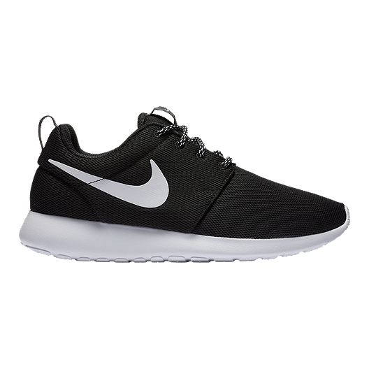 2a59d6fc55f4 Nike Women s Roshe One Shoes - Black White Dark Grey