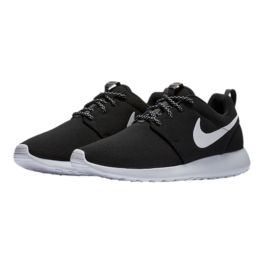 competitive price ccb43 4c504 Nike Women's Roshe One Shoes - Black/White/Dark Grey