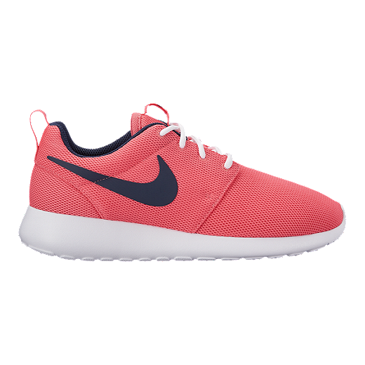 new product 3cc33 51ff1 Nike Women's Roshe One Shoes - Sea Coral/Obsidian/White