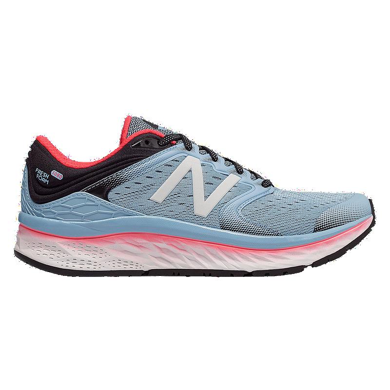 d374554aa145b New Balance Women's Freshfoam 1080v8 Running Shoes - Blue/Orange/Black |  Sport Chek