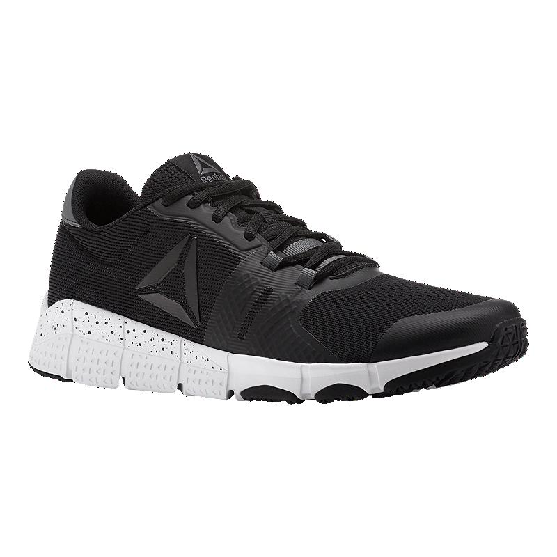 0d291634f25d Reebok Men s TrainFlex 2.0 Training Shoes - Black White