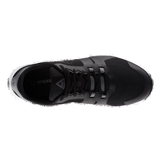 05dc2b15f16b51 Reebok Men s TrainFlex 2.0 Training Shoes - Black White