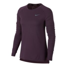 Nike Women's Breathe Tailwind Long Sleeve Running Shirt