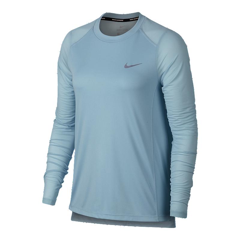 Nike Women s Miler Long Sleeve Running Shirt  827acefcd0c1