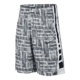 Nike Dry Boys' Elite Stripe All Over Print Basketball Shorts