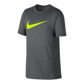 Nike Dry Boys' Swoosh Solid Training T Shirt