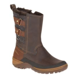 Merrell Women's Sylva Mid Buckle Waterproof Winter Boots - Potting Soil