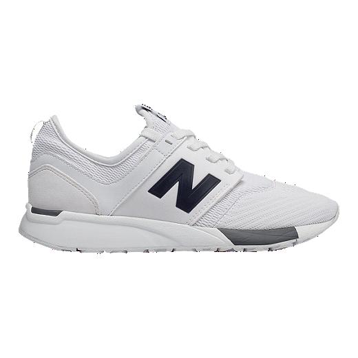 89533683c8ed2 New Balance Kids' 247 Grade School Shoes - White/Grey - WHITE/GRAY