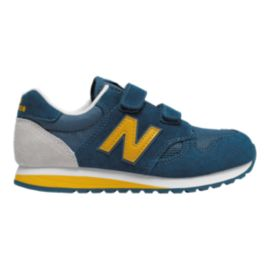 New Balance Kids' 520 Grade School Shoes - Blue/Yellow