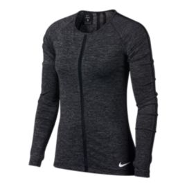 Nike Pro Women's Heather Long Sleeve Shirt