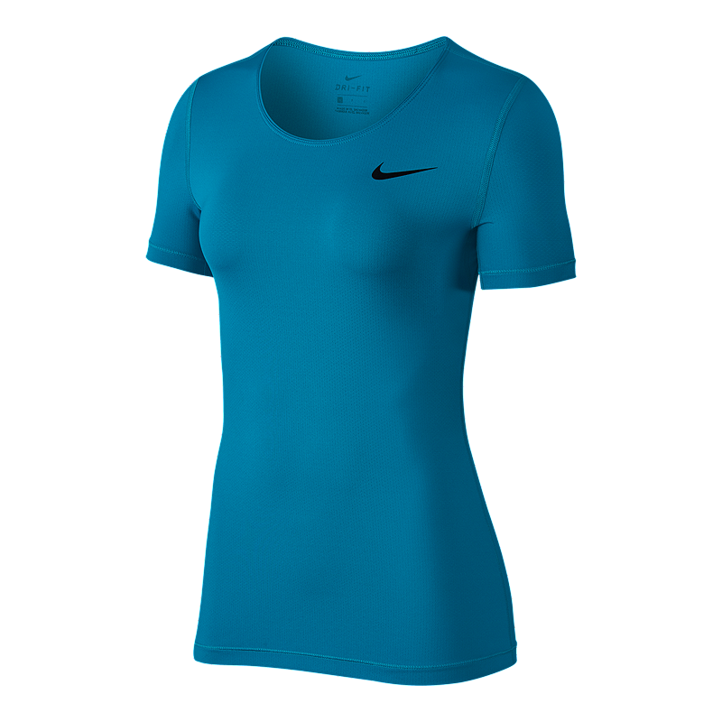 Nike Pro Women s All Over Mesh Short Sleeve Shirt  6fd5c9eb7