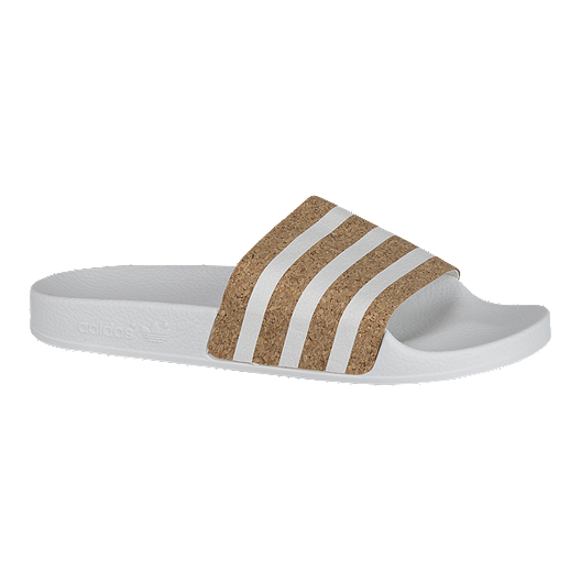 united kingdom sale aliexpress adidas Originals Women's Adilette Sandals - White/Cork ...