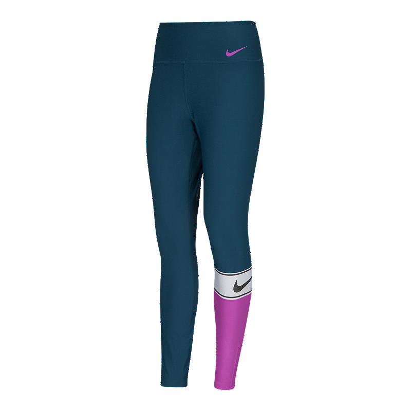 14ba2517eac822 Nike Women's Power Colorblock Tights | Sport Chek