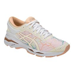 06076d11 ASICS Women's Gel Kayano 23 LS Running Shoes - Dark Blue/Coral Pink ...